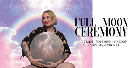 Full Moon in Aquarius Healing Ceremony tickets