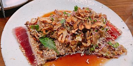 Japanaroo: Flavours of Japan & Australia - Tuna and Mushroom Cooking Class tickets