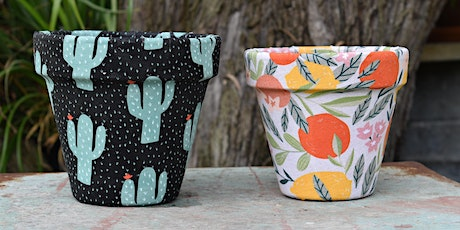 Fabric Covered Pots tickets