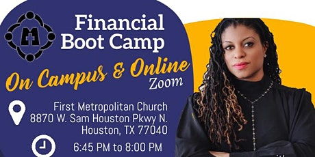 Financial Boot Camp tickets