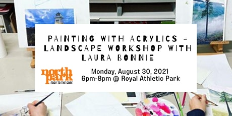 Painting with Acrylics - Landscapes Workshop with Laura Bonnie tickets