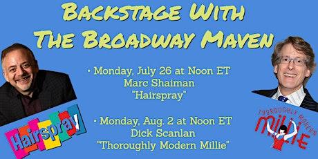 "FREE Backstage with Marc Shaiman (""Hairspray"") & Dick Scanlan (""Millie"") tickets"