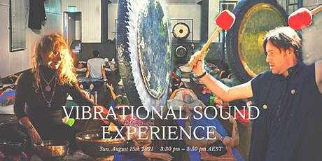 Vibrational Sound Experience -Event tickets