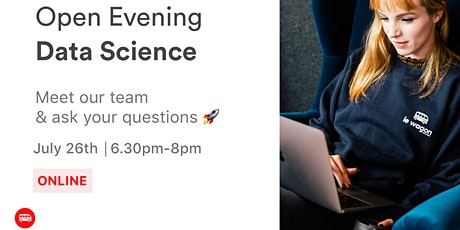 Open Evening: Discover our Data Science Bootcamp  tickets