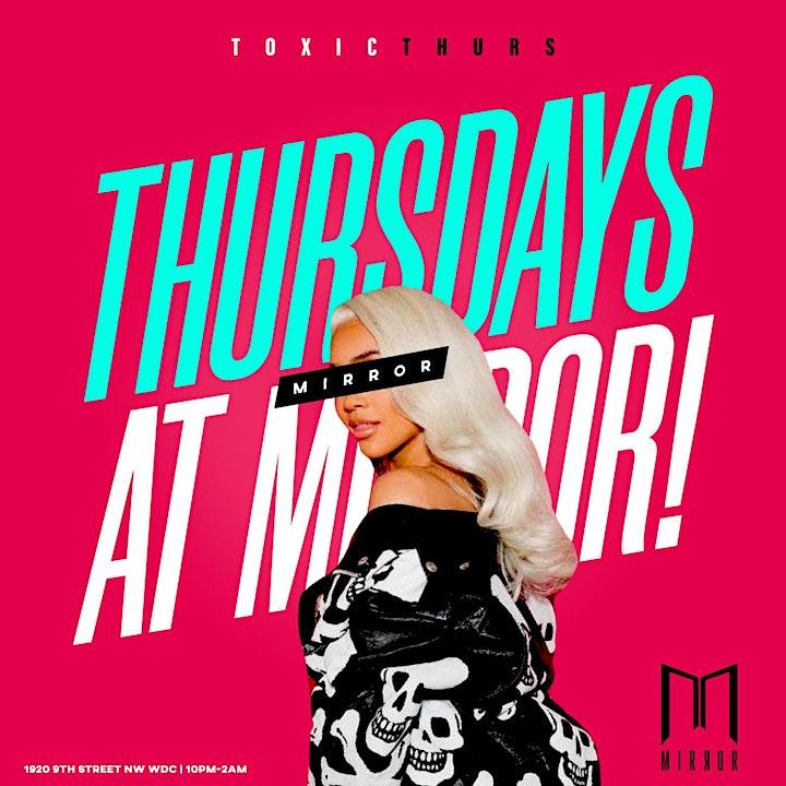 Toxic Thursdays At Mirror Lounge image