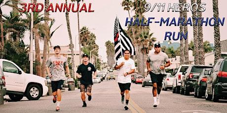 9/11 Never Forget. Half Marathon Run tickets