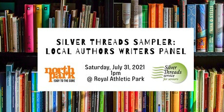 Silver Threads Sampler: Local Authors Panel tickets
