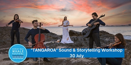 """""""TANGAROA"""" Sound & Storytelling Workshop with WHAIA Sonic Weaver tickets"""