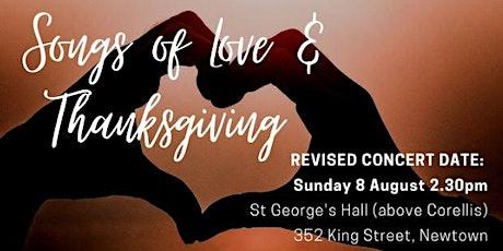 The Bourbaki Ensemble | Songs of Love & Thanksgiving tickets