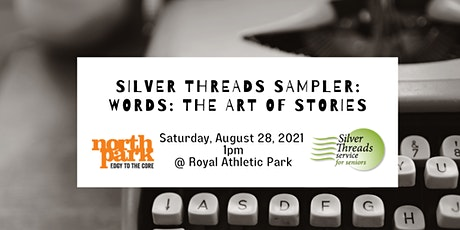 Silver Threads Sampler: Words - The Art of Stories tickets