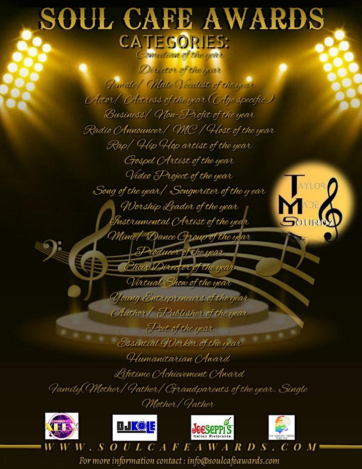 Soul Cafe Awards image