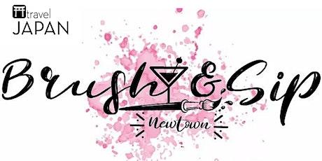 Japanaroo:  Cherry Blossom Paint & Sip Experience tickets