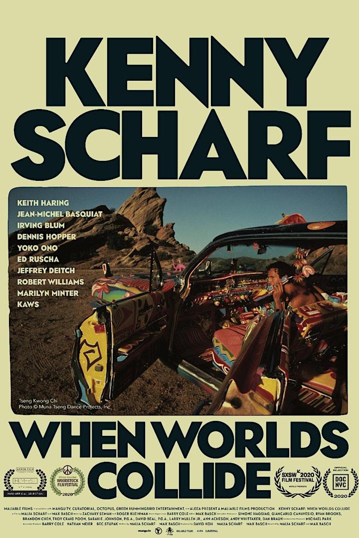 "Watch the film ""Kenny Scharf: When Worlds Collide"" &  Q&A  w/ Kenny Scharf image"
