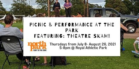 Picnic & Performance at the Park Featuring Theatre SKAM tickets