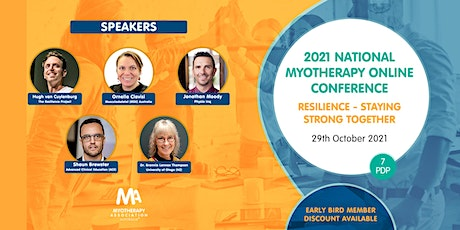 Myotherapy Association National Online Conference 2021 tickets