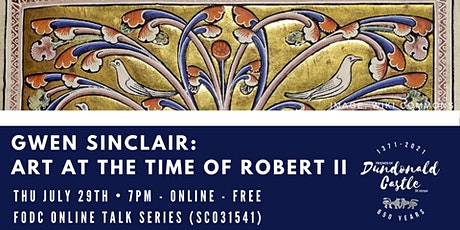 Online Talk: Art at the Time of Robert II tickets