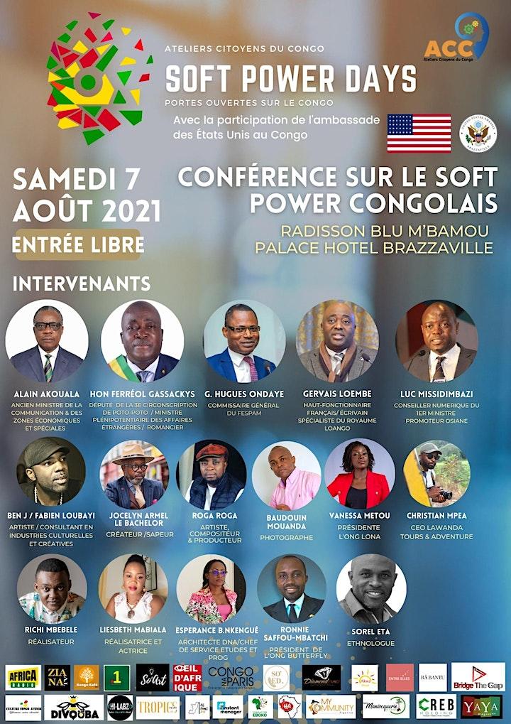 Image pour Soft Power Days - Congo-Brazzaville (Jour 1)