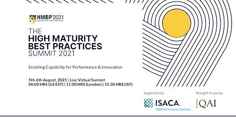 High Maturity Best Practices Summit, HMBP 2021 tickets