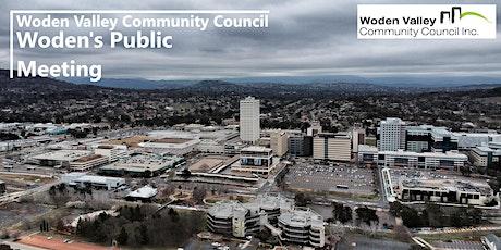 Woden's Public Meeting - Wednesday 6 October 21 tickets