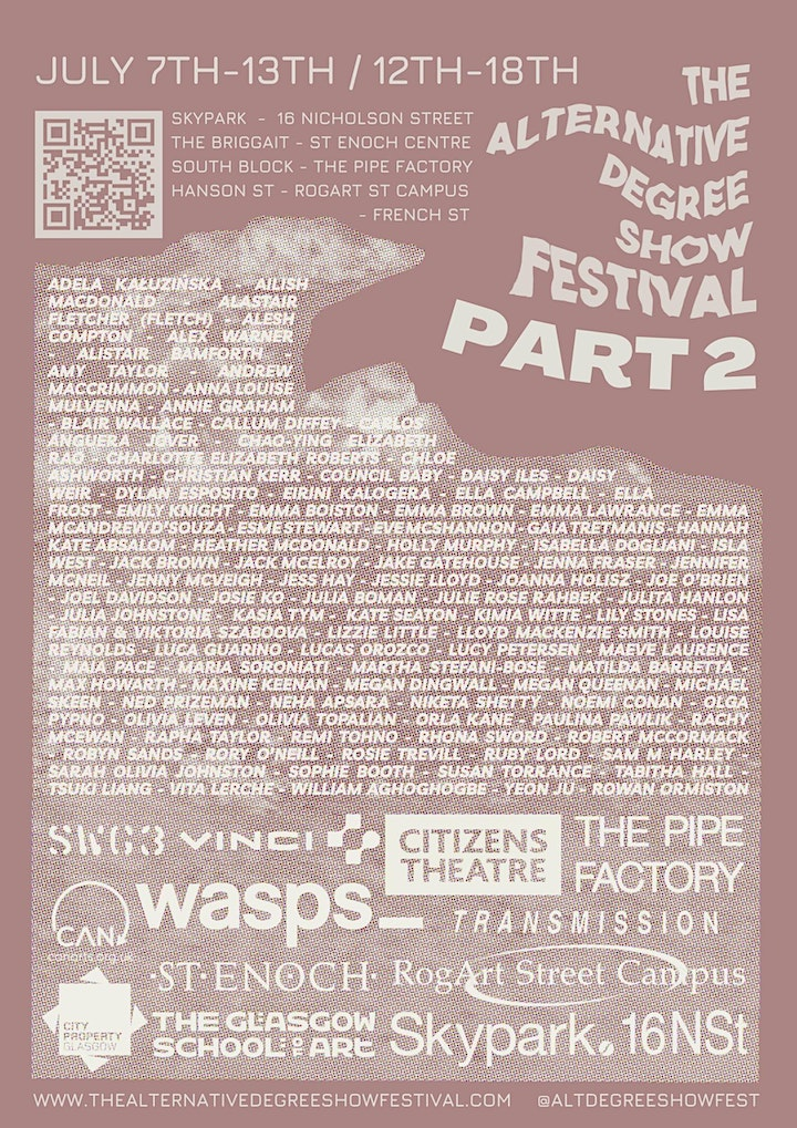 The Alternative Degree Show Festival Part2 @ Pipe Factory image
