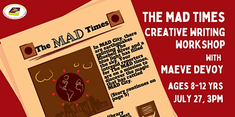 The MAD Times: Creative Writing Workshop for Children tickets