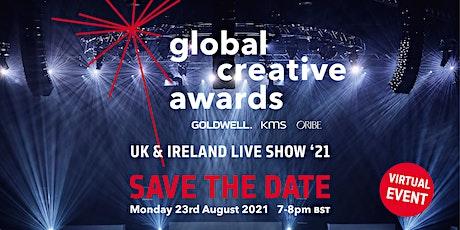 Global Creative Awards UK & Ireland Live Show tickets