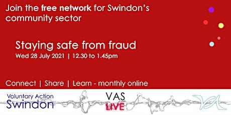 VAS-LIVE - fighting back on financial exploitation & fraud tickets