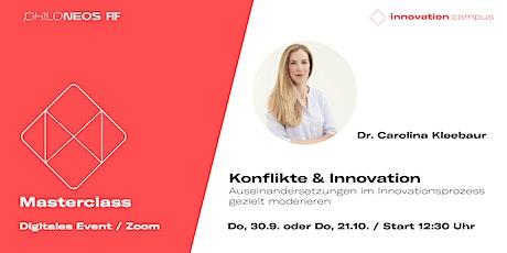 Masterclass: Konflikte & Innovation Tickets