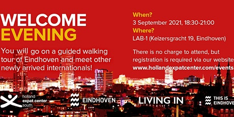 Welcome Evening for Internationals in Eindhoven: September 2021 tickets