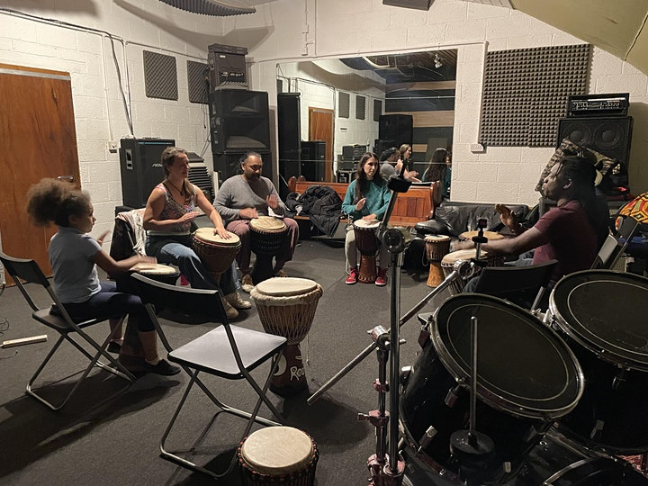 African drumming classes for beginners, intermediate and professionals image