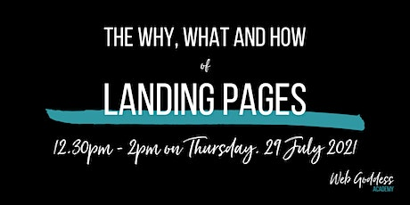 Creating Awesome Landing Pages - Lunch & Learn Online Training tickets