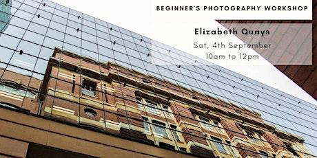 Photography Beginner Workshop - Elizabeth Quays tickets