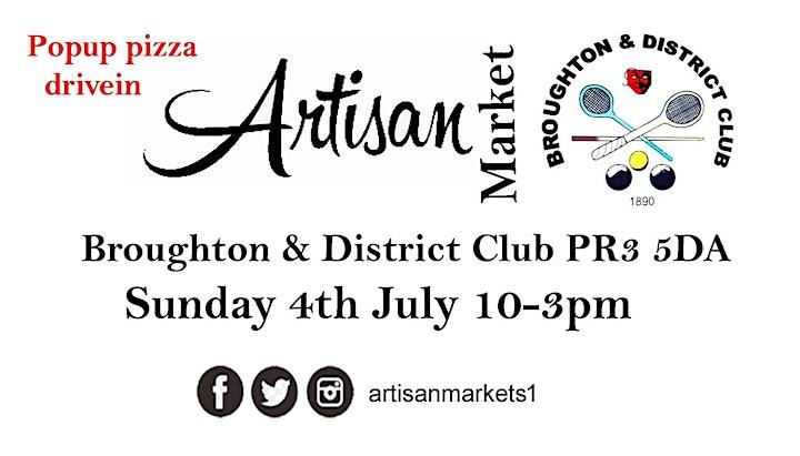 Artisan Market @ The Broughton & District club image