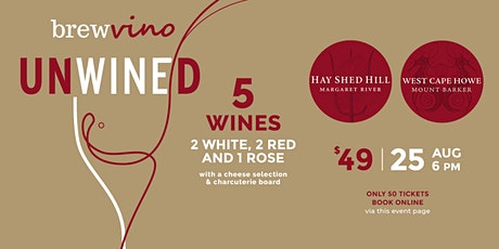 UNWINED @ Brewvino - w. West Cape Howe Wines & Hayshed Hill tickets