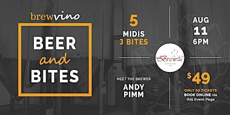 Beer & Bites nights @ Brewvino - w. Brew 42 tickets