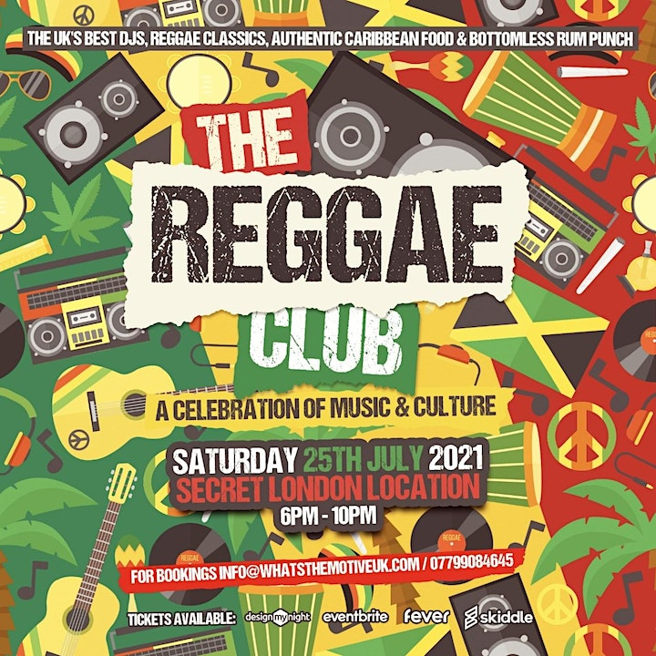 The Reggae Club - Live DJs, Brunch and Party image