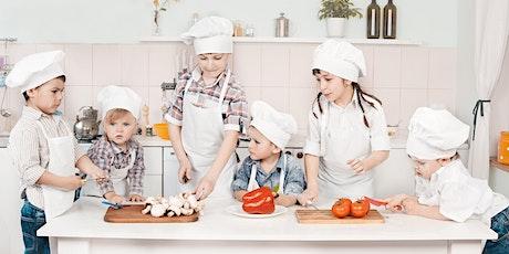 Children's Summer Cookery Camp: Food Around The World 2 tickets