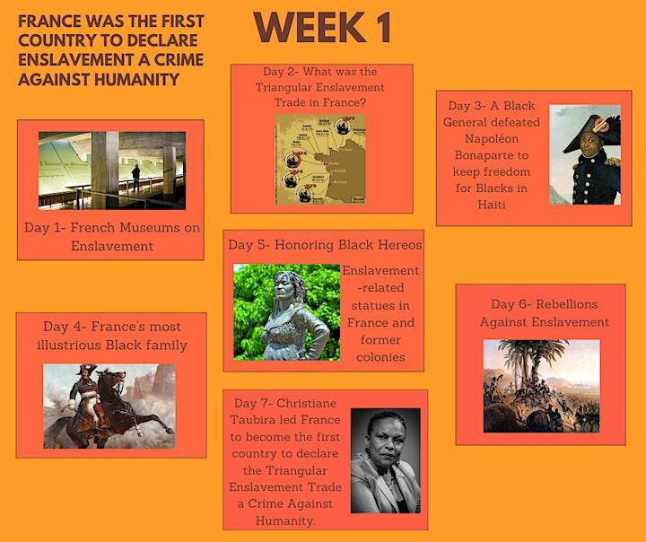 30 DAY CHALLENGE - QUIZ & Videos: Black life in France  the 1600's til now! image