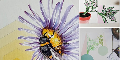 Watercolour Painting  Course - Beginners starts Aug 7 (8 sessions) tickets