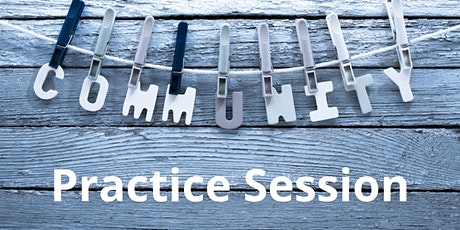 Community Practice Session tickets