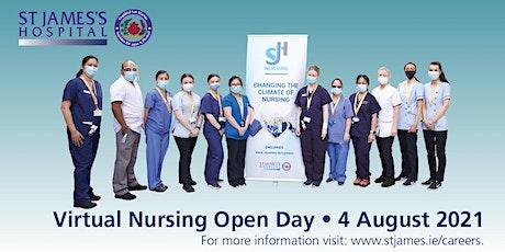 Virtual Nursing Open Day tickets