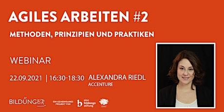 Agiles Arbeiten #2 - Alexandra Riedl Tickets