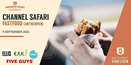 Channel Safari FASTFOOD FORMULES (ANTWERPEN) tickets