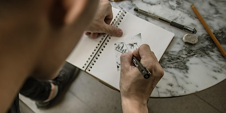 Free charcoal life drawing class for over 60s tickets