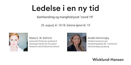 "Ledelse i en ny tid - Samhandling og mangfold ""post Covid-19"" tickets"