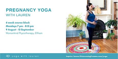 Pregnancy Yoga - FREE TRIAL CLASS tickets