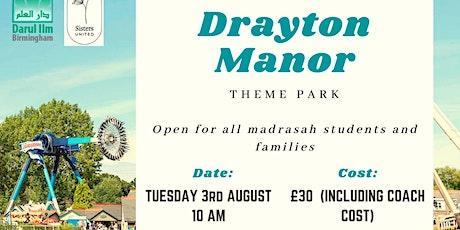 Drayton Manor Theme Park tickets