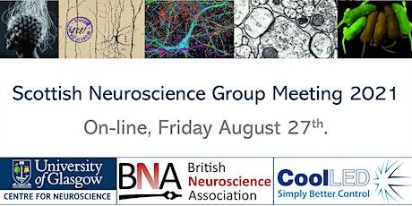 Scottish Neuroscience Group Meeting 2021 tickets