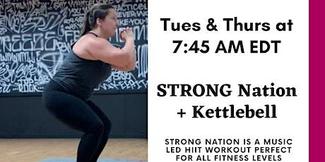 50 Minute Workout: Kettlebell+STRONGNation tickets