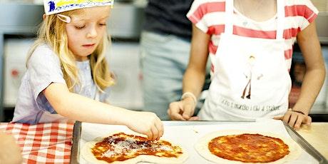 Pizza kids cooking class tickets